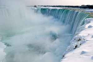 Niagara Falls, Canada in Winter