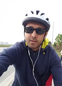 kapil biking